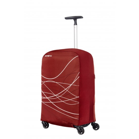 Luggage cover M Bordeaux