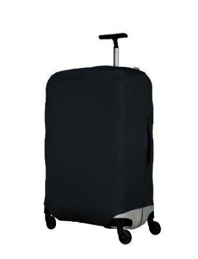 Luggage cover M Dark Grey - Luggage cover including address labels