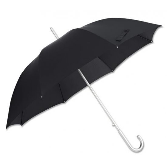 Alu Drop S TM  Stick Umbrella Black