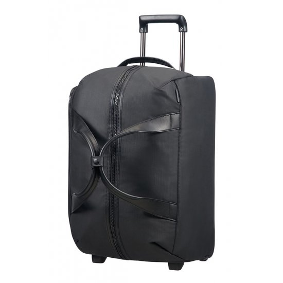 Memphis Duffle with wheels 55cm Black
