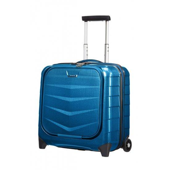 Rolling Tote on 2 wheels Lite-Biz Blue color
