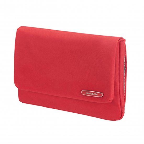Modula Folding Toiletry Bag True Red