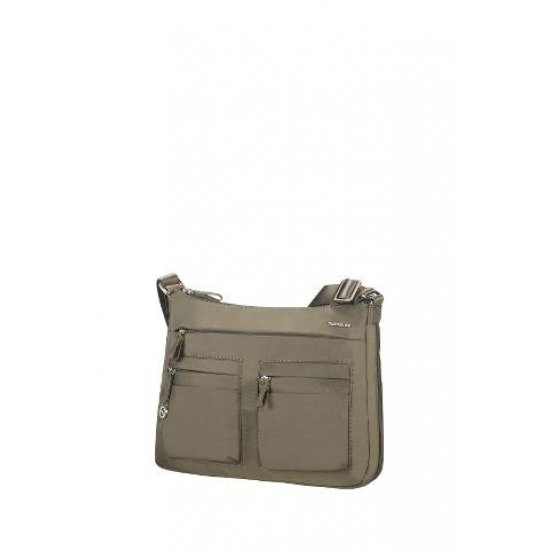 Move 2.0 Hobo S Expandable Silver Green