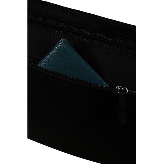 Move 2.0 Horizontal Shoulder Bag + Flap Black