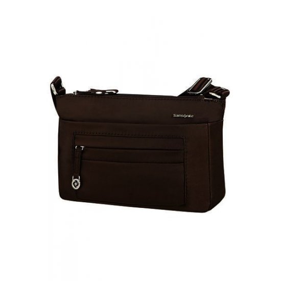 Move 2.0 Horizontal Shoulder Bag S Dark Brown