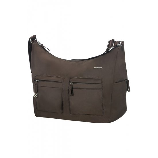 Move 2.0 Shoulder Bag M + 2 Pock. Dark Brown