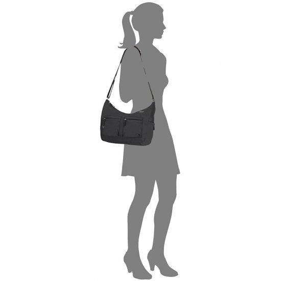 Move 3.0 Shoulder Bag M + 2 Pock. Black
