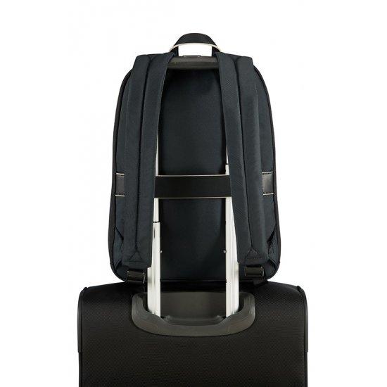 Nefti Laptop Backpack 35,8cm/14.1″ Black/Sand
