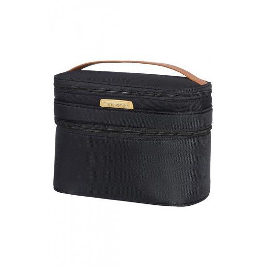 Toiletry Bag Blue/Dark Brown Streamlife