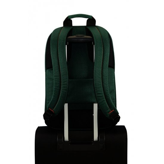 Network 3 Laptop Backpack 17.3'' Bottle Green