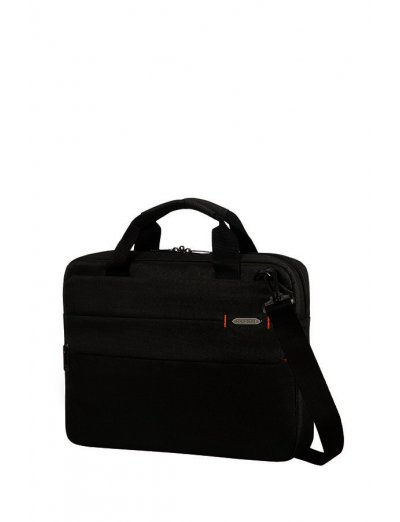 Network 3 Laptop Briefcase 14.1'' Charcoal Black - Men's business bags
