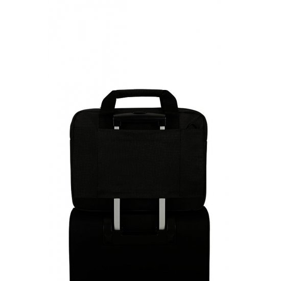 Network 3 Laptop Briefcase 14.1'' Charcoal Black