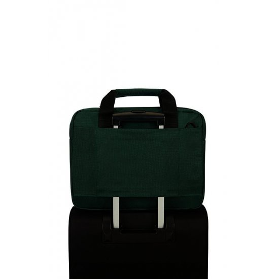 Network 3 Laptop Briefcase 14.1'' Bottle Green