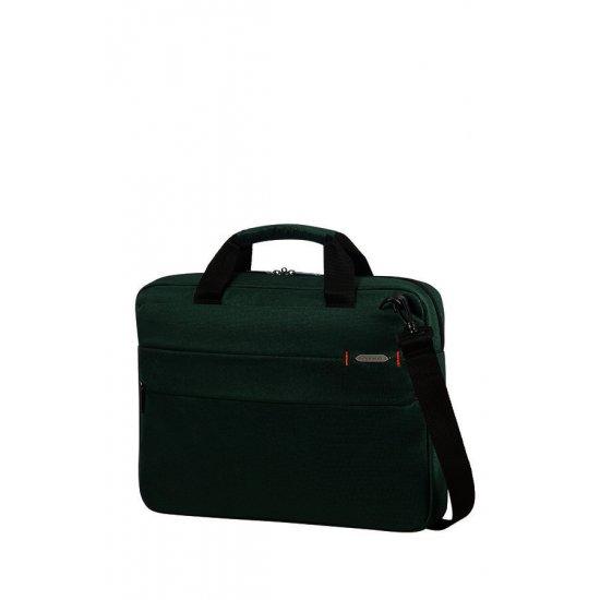 Network 3 Laptop Briefcase 15.6'' Bottle Green