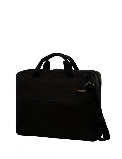 Network 3 Laptop Briefcase 17.3'' Charcoal Black - Men's business bags