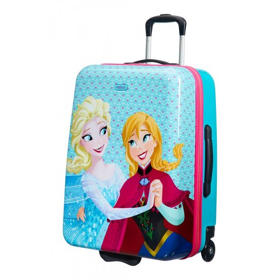 New Wonder 2-wheel 50cm18inch upright suitcase Frozen Magic