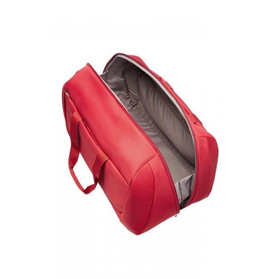 Олекотена червена пътна чанта B-Lite