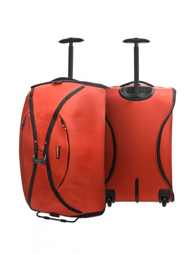 Orange duffle on wheels 63 cm Duo Plyer - Product Comparison