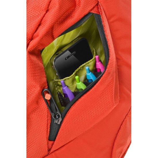Orange cross-over shoulder bag 9.7