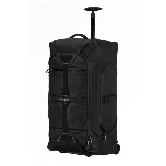 Paradiver Black sports duffle on 2 wheels, 67 cm.