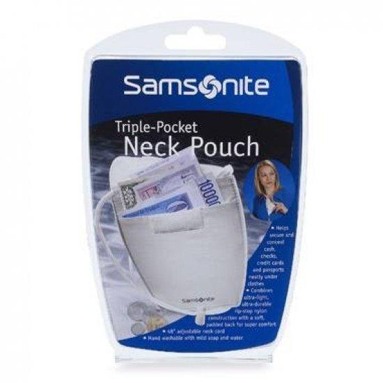 Triple Pocket Neck Pouch