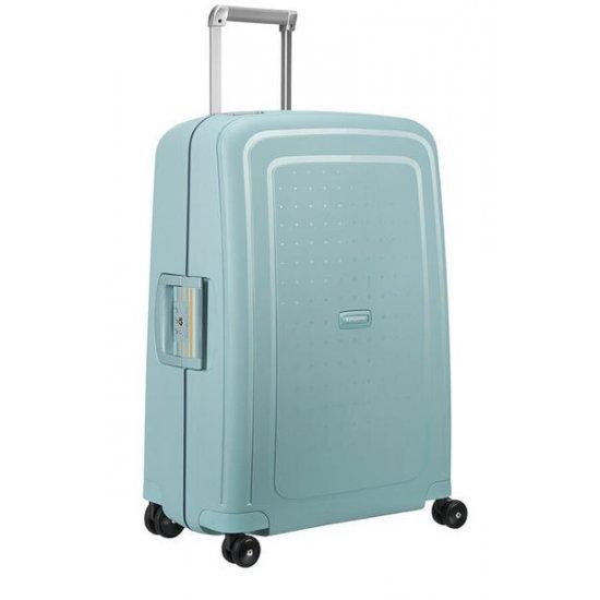 S'Cure Spinner 4 wheels 69 cm medium size Stone Blue/Navy Blue