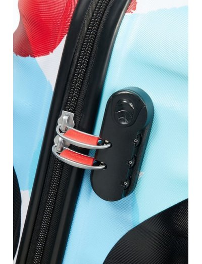 АТ 4-wheel 55cm Spinner suitcase Wavebreaker Mickey Close-Up - Product Comparison