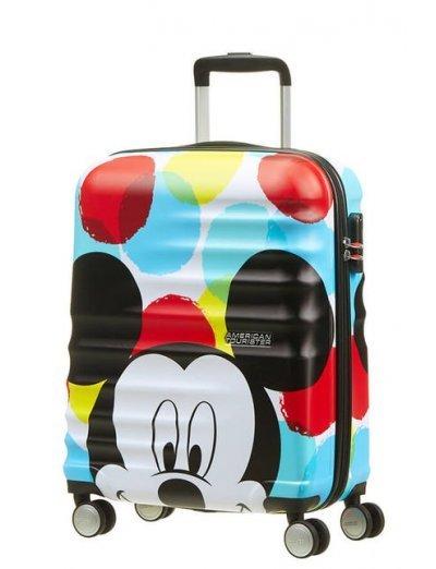 АТ 4-wheel 55cm Spinner suitcase Wavebreaker Mickey Close-Up - Wavebreaker Disney