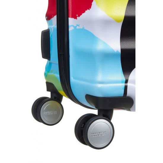 АТ 4-wheel 67cm Spinner suitcase Wavebreaker Mickey Close-Up