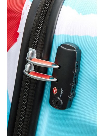 АТ 4-wheel 67cm Spinner suitcase Wavebreaker Mickey Close-Up - Hardside suitcases