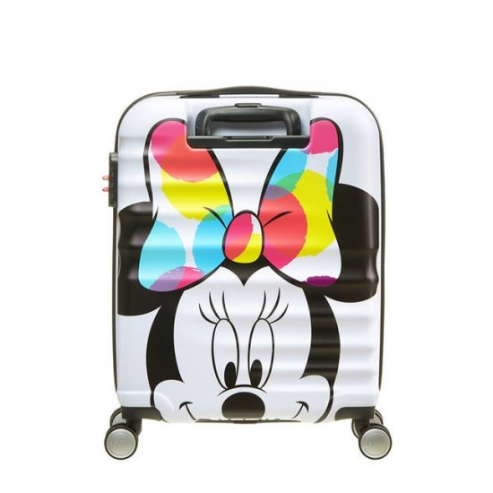 АТ 4-wheel 55cm Spinner suitcase Wavebreaker Minnie Close - Up