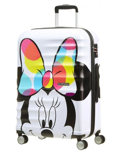 АТ 4-wheel 67cm Spinner suitcase Wavebreaker Minnie Close - Up - Product Comparison