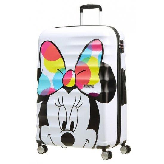 АТ 4-wheel 77cm Spinner suitcase Wavebreaker Minnie Close-Up