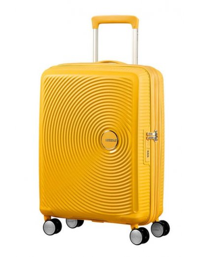 Soundbox Spinner (4 wheels) 55cm Exp Golden Yellow - Hand luggage/cabin