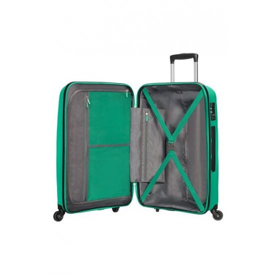 Bon Air 4-wheel 75cm large Spinner suitcase Emerald Green