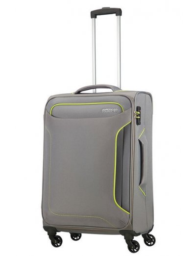 Holiday Heat 4-wheel cabin baggage Spinner 67cm  Metal Grey - Holiday Heat