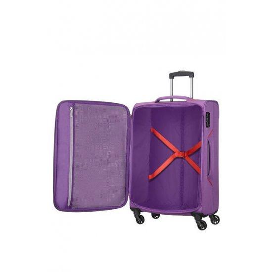 Holiday Heat 4-wheel cabin baggage Spinner 67cm  Lavender Purple