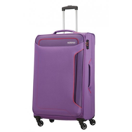 Holiday Heat 4-wheel cabin baggage Spinner 79 cm Lavender Purple