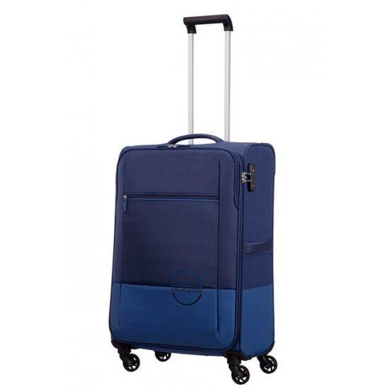 Instago 4-wheel cabin baggage Spinner 55cm Navy/Bright Blue