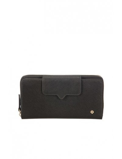 Miss Journey Slg Wallet Black - Ladies' leather wallets