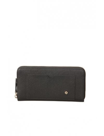Miss Journey Slg Wallet Scarlet Black - Ladies' leather wallets