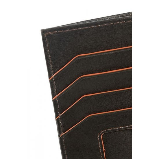 Card Holder Credit Card Holder Brown/Orange