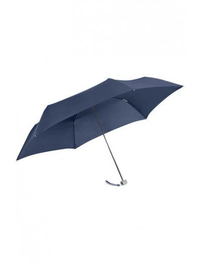 Rain Pro 3 Sect. Manual Blue Flat - Mini - Ladies umbrella