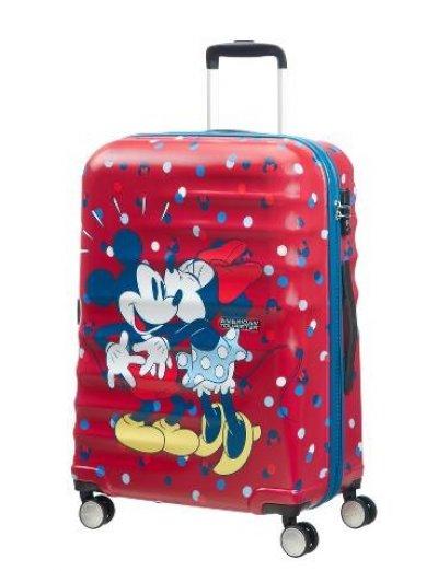 АТ 4-wheel 67cm Spinner suitcase Wavebreaker Minnie Loves - Wavebreaker Disney