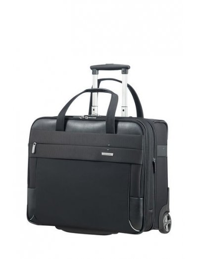 Spectrolite 2 Rolling laptop bag 43.9cm/17.3inch Exp. Black - Rolling tote