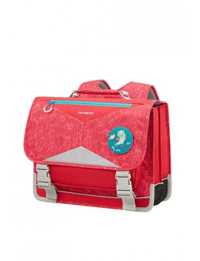 Sam Ergofit Backpack L Jungle Red - Kid's school backpacks 1- 4 grade