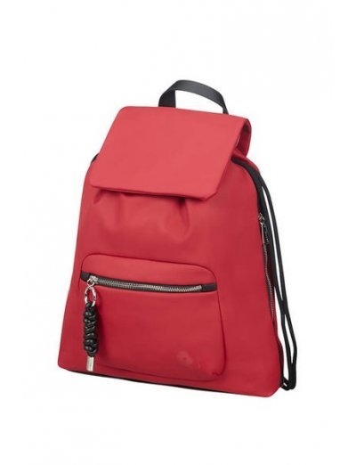 Smoothy Backpack  Dark Red - Ladies backpacks