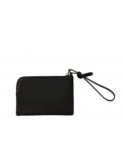 MY SAMSONITE SLG flat pouch made out of 100% PU Black - Ladies' leather wallets