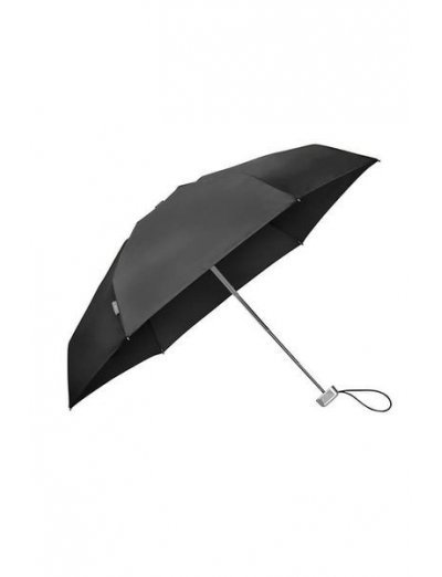 Alu Drop S TM  5 Sect. Manual Black - Ladies umbrella