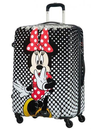 AT Spinner 4 wheels Disney Legends 75 cm Minnie Mouse Polka Dot - Hardside suitcases